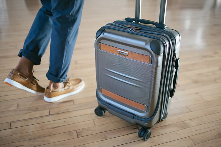 For those team members constantly on the go, the Ocean Drive 21-inch Spinner Carry-On from Ricardo Beverly Hills is an essential reward