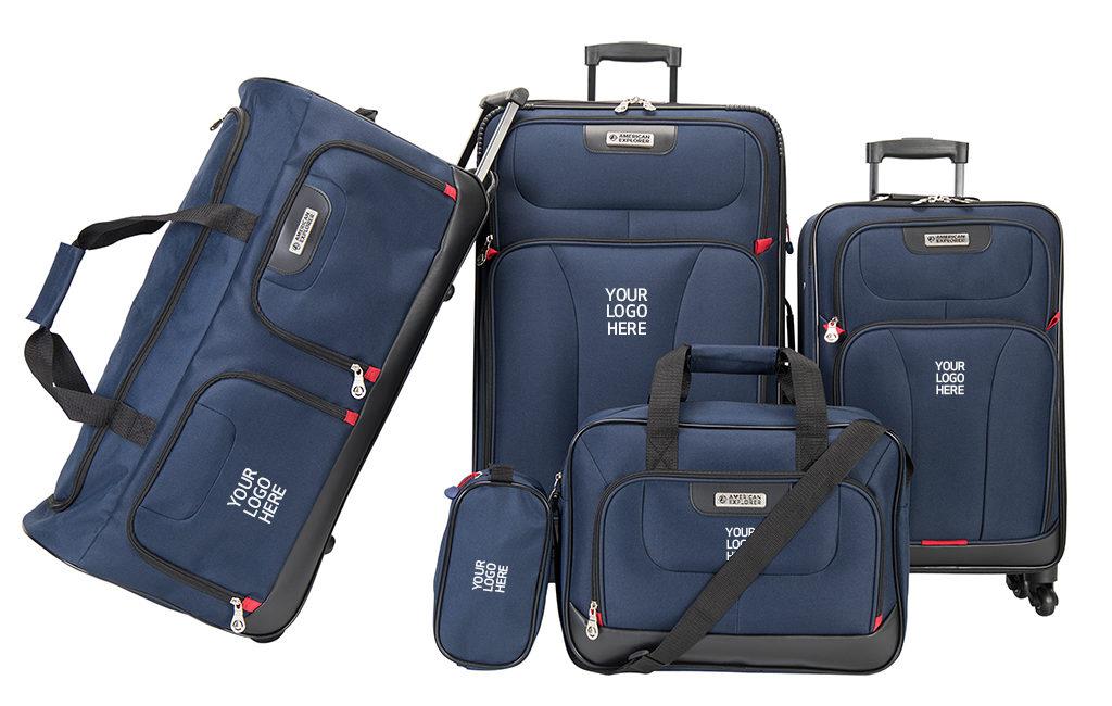 American Explorer – Travel Premium 5PC Set: budget friendly luggage gift