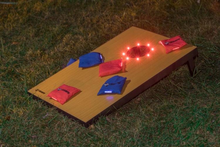 riumph Sports – Advanced LED Bean Bag Toss: a great summer outdoor gift
