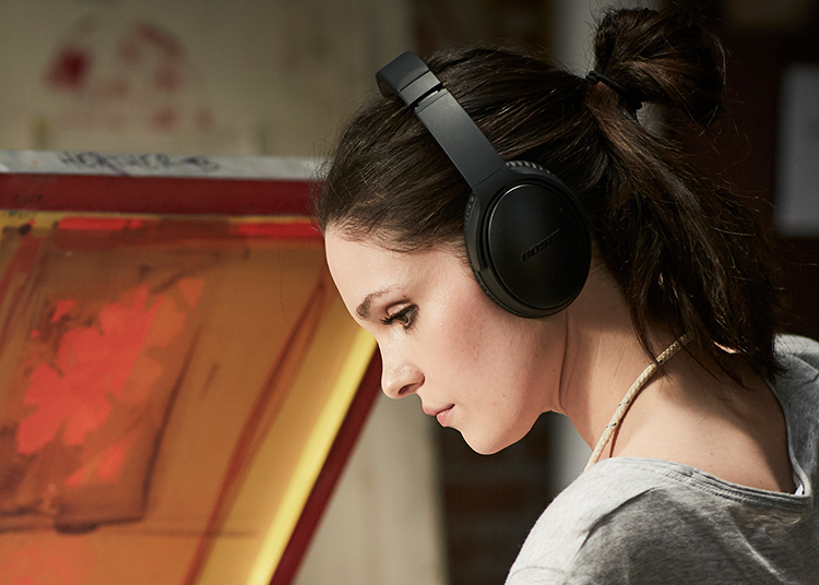 QC<sup>®</sup>35 wireless headphones II - The best from Bose. Now even better.