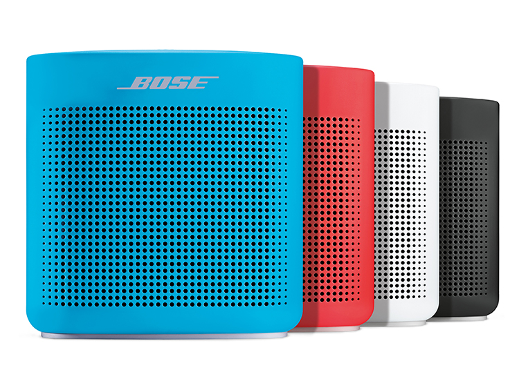 the Bose SoundLink Color Bluetooth® Speaker II delivers bold sound regardless of location