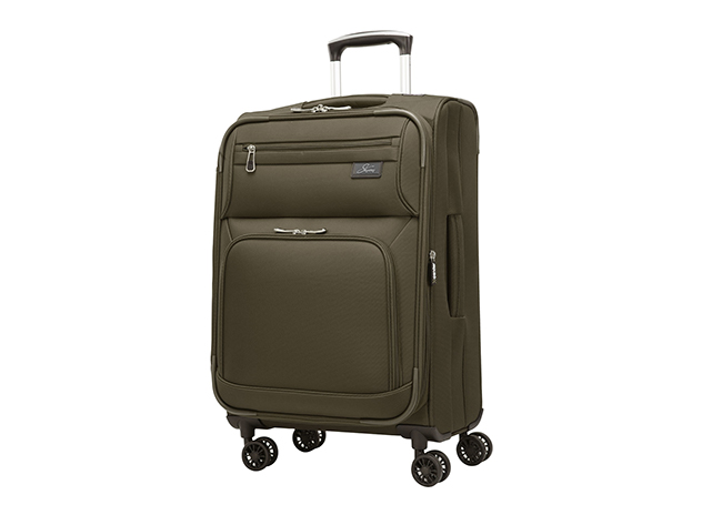 Skyway - Sigma 5.0 21-inch 4 Wheel Expandable Spinner Carry-On - Forest Green