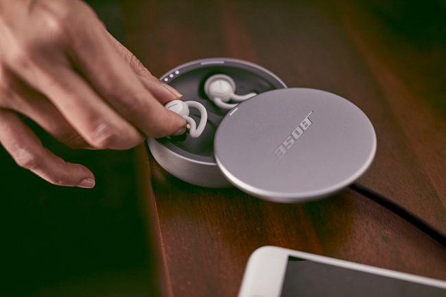 Recognition gifts for the wellness-minded employee, like the Bose noise-masking sleepbuds™, make for the perfect holiday gift