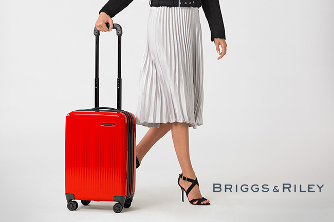 "the performance luggage brand known for its ""simple as that"" lifetime guarantee and durable, innovative, and stylish bags"