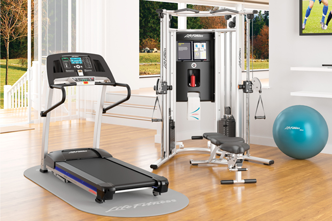 To help employees get more active, shop premium fitness equipment from Life Fitness