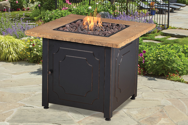 Give desirable incentive gifts of fire pits to employees and customers to keep them warm on a cool night