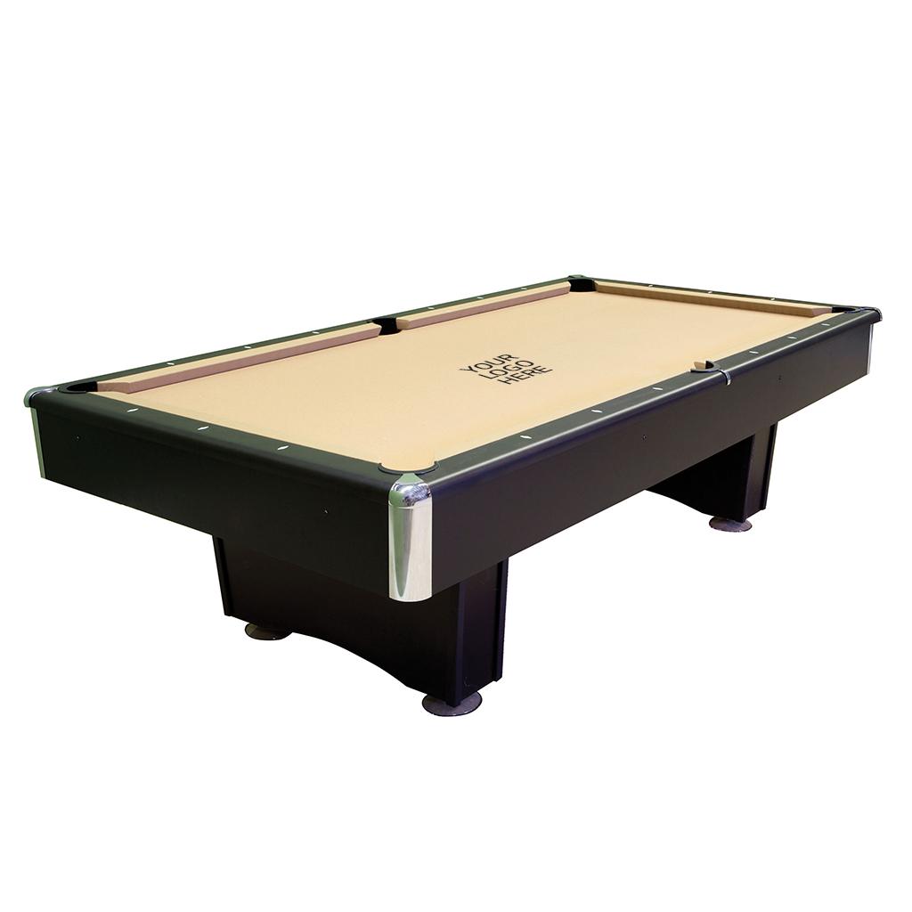 8' Addison Pool Table - Ebony with Premium Kit