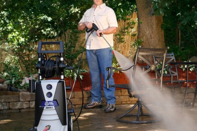 Perfect tangible rewards - a pressure washer for every job