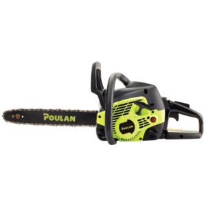 """Poulan Pro 38cc, Fully Assembled 16"""" Gas Chainsaw"""