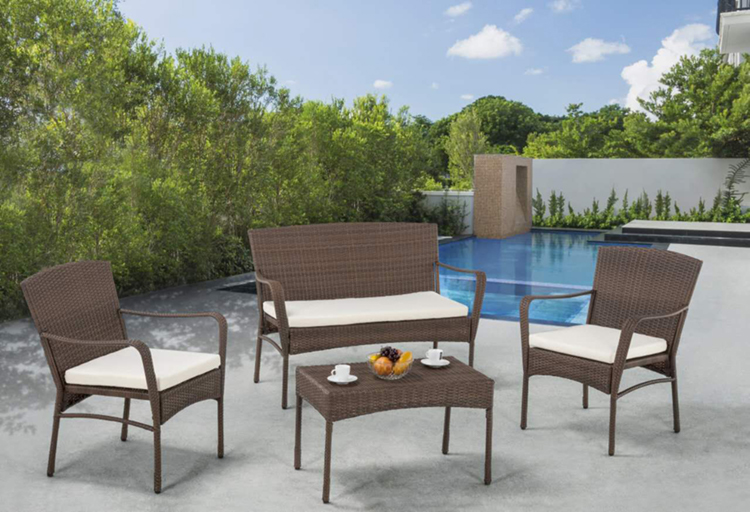 W Unlimited offers a wide variety of complete furniture sets like the Arcadian Collection Outdoor Garden Patio Furniture 4-Piece Set with Table