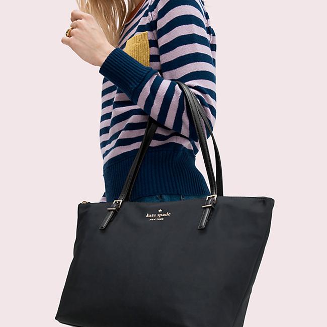 For a more style-savvy gift, consider the Watson Lane Maya handbag in black