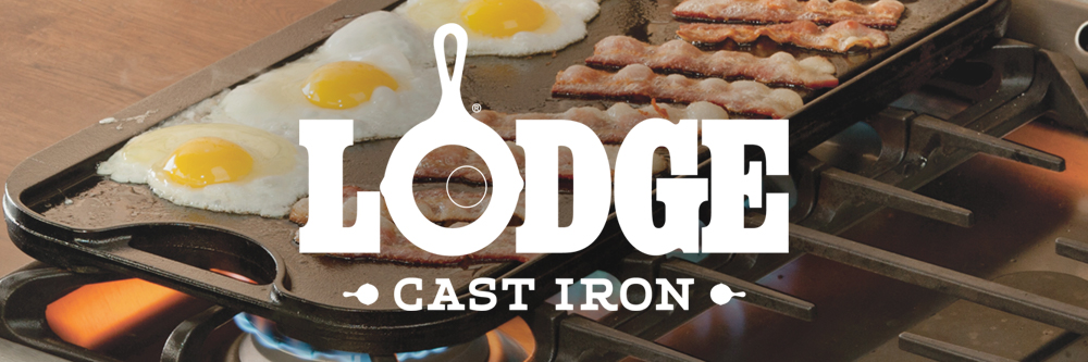 Lodge Cast Iron cookware for gifts and incentives: An heirloom your client or employee will hold on to for generations.