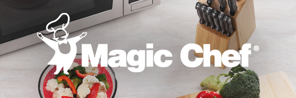 A household name that at-home chefs turn to for dependable, easy-to-use kitchen appliances, Magic Chef offers kitchen essentials to help busy consumers create magical moments and simplify their lives.