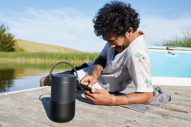 Portable Home Speaker – smart, portable, powerful