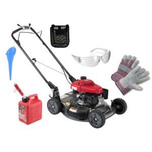 """Honda 21"""" Self-Propelled, Variable Speed Lawn Mower Package"""