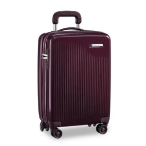Briggs & Riley Sympatico International Carry-On Expandable Spinner - Plum