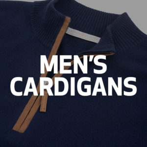 Cashmere Counter men's cardigan