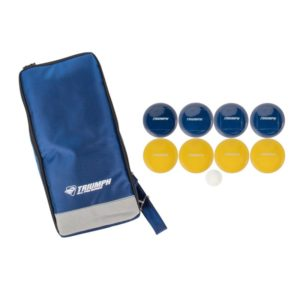 Triumph Sports - All Pro 100mm Bocce Set with Sling Sport Bag