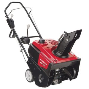 Honda Manual Start, Single-Stage, Auger-Assist Drive Snow Blower