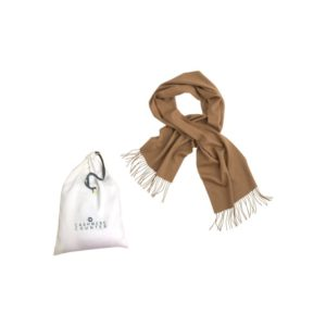 Cashmere Woven Scarf - Camel