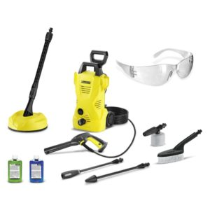 Karcher 1600 PSI - 1.25 GPM - Electric Pressure Washer with 5 Piece Car & Home Kit Package