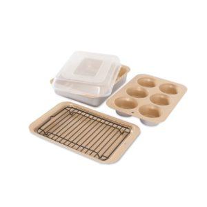 Nordic Ware Nonstick Compact Ovenware 5 Pc Bake Set