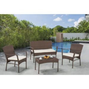 W Unlimited Arcadian Collection 4-Piece Patio Set
