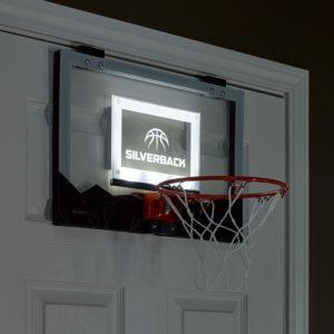 "Silverback 18"" LED Mini Hoop"