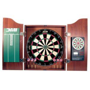 DMI Sports - Dartboard Cabinet With Electronic Scorer