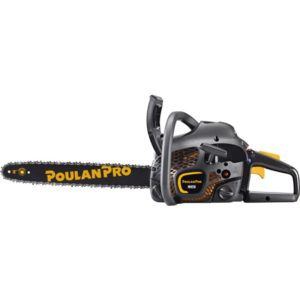 """Poulan Pro 42cc, 18"""" Anti-Vibe 2-Cycle Gas Chain Saw"""