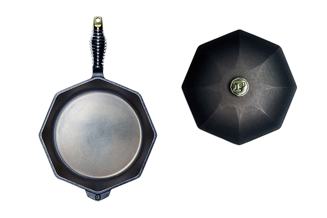 """The 12"""" Cast Iron Skillet is truly versatile. It's machined-smooth surface is perfect for eggs, but is also great for searing steaks, chops, and salmon or baking cornbread, cakes, and pies."""