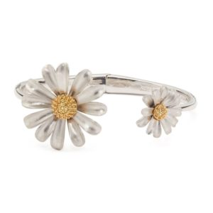 Into the Bloom Open Hinged Cuff