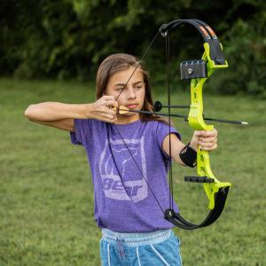 Bear Archery - Brave Bow Set - FLO Green Right