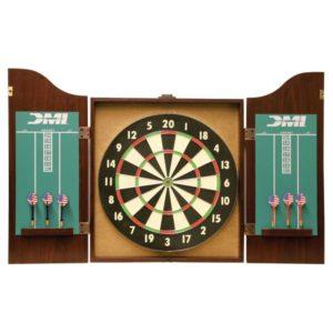 DMI Sports Cherry Dartboard Cabinet