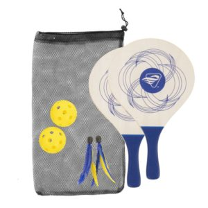 Triumph Sports 2-in-1 Paddle Badminton Pickleball Combo Set