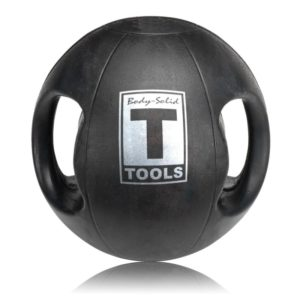 Body-Solid Dual-Grip Medicine Ball - 10 lb