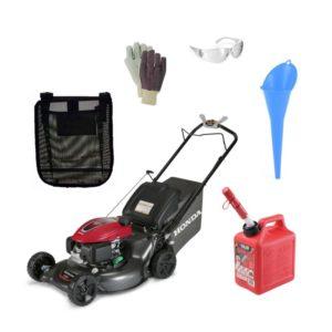 """Honda 21"""" Smart Drive Lawnmower Package"""