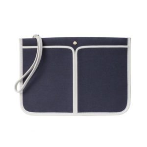 Sam Canvas Plunge Small Wristlet - Blazer Blue