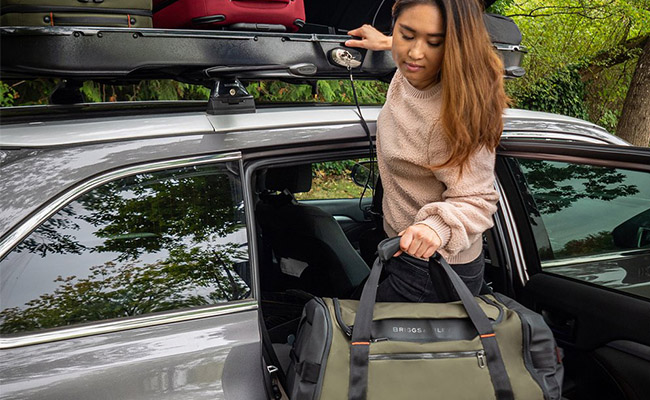 On longer trips, carry everything in one bag with the ZDX Travel Duffle