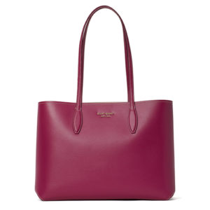All Day Large Tote - Deep Raspberry