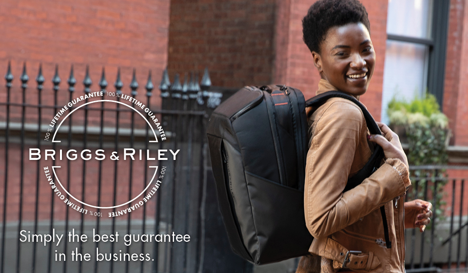 Simple As That® Lifetime Guarantee, the only warranty of its kind in the luggage industry