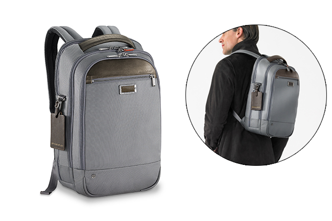 Remain highly mobile and professionally polished with the @work Medium Backpack